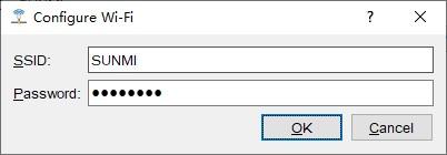 Configure Wi-Fi SSID